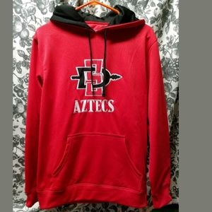San Diego Aztec embroidered hoodie small